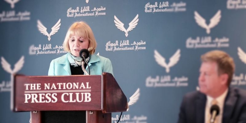 Part of Amb. Anne Patterson remarks during GIF panel on the one year anniversary of the Gulf Crisis