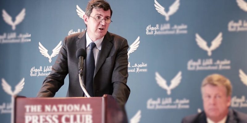 Part of Dr. Kristian Ulrichsen remarks during GIF panel on the one year anniversary of the Gulf Crisis