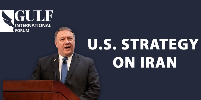 Announced U.S. Strategy on Iran