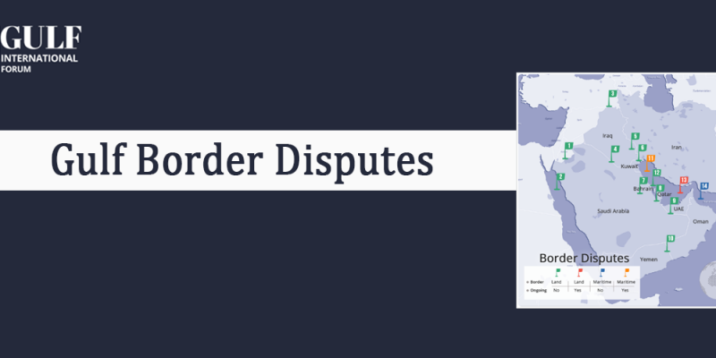 Border Dispute in the Gulf Region