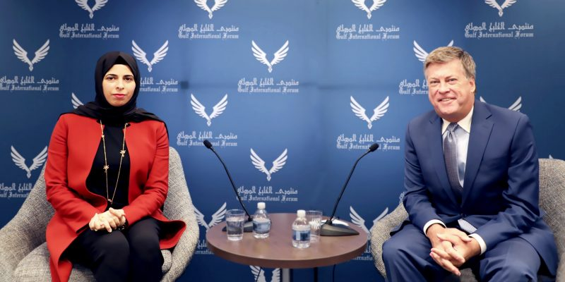 Conversation With Her Excellency Lolwah Rashid Al-Khater, Spokesperson for the Ministry of Foreign Affairs of the State of Qatar