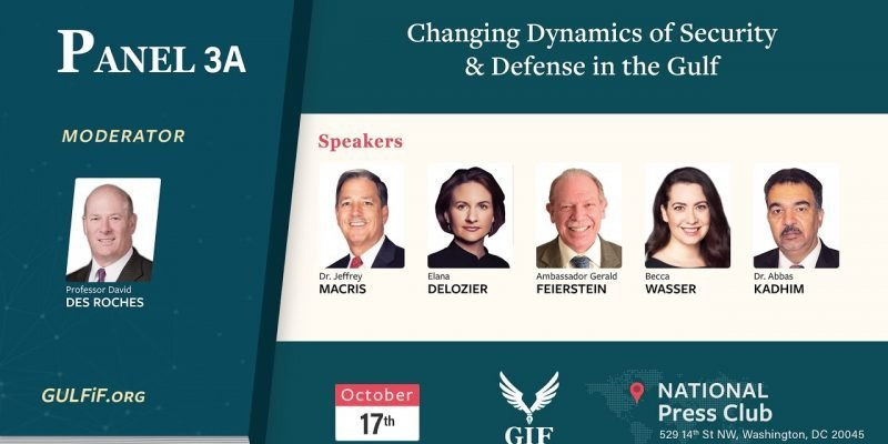 Changing Dynamics of Security & Defense in the Gulf