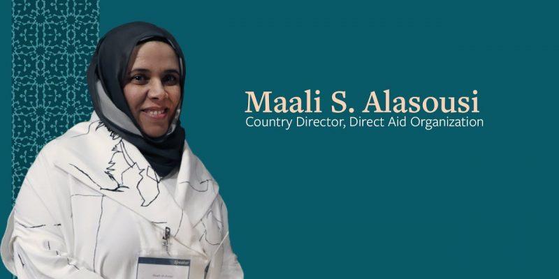 Remarks by Awardee Maali S. Alasousi