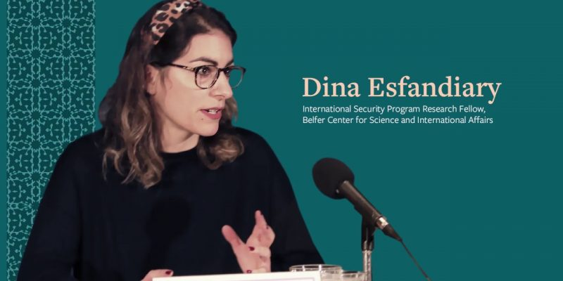Dina Esfandiary comments on Iran British relations