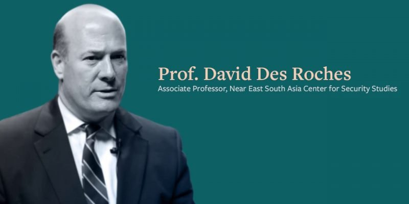 Prof. David Des Roches talks about possible response by the U.S. in case of Iranian retaliation