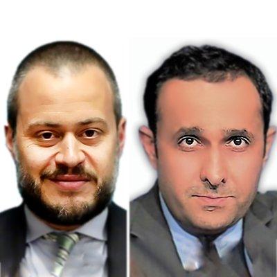 Dr. Khalid Al-Jaber & Giorgio Cafiero