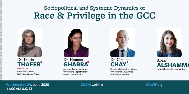 Sociopolitical and Systemic Dynamics of Race & Privilege in the GCC