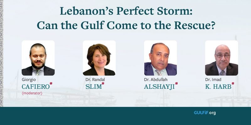 Lebanon's Perfect Storm: Can the Gulf Come to the Rescue?