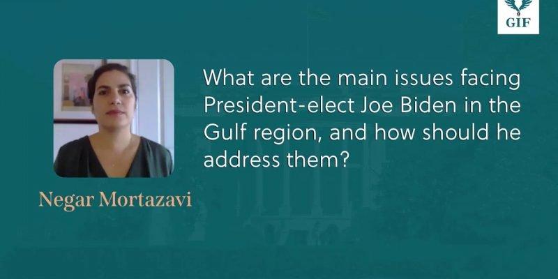 Negar Mortazavi Explains the Main Issue Facing President-elect Joe Biden in...