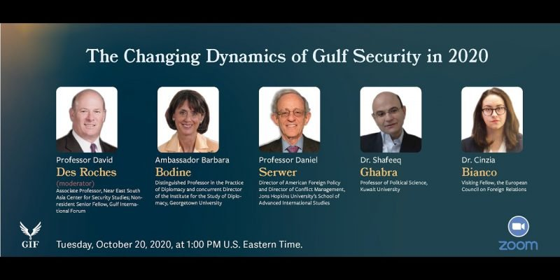 The Changing Dynamics of Gulf Security in 2020