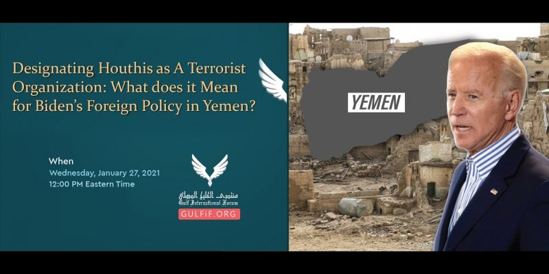 The Way Forward for America's Foreign Policy in Yemen