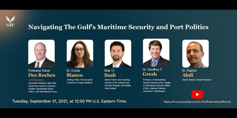 Navigating The Gulf's Maritime Security and Port Politics